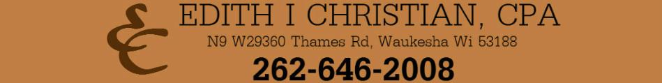 Gifting and your tax return - Edith Christian CPA - Waukesha ...