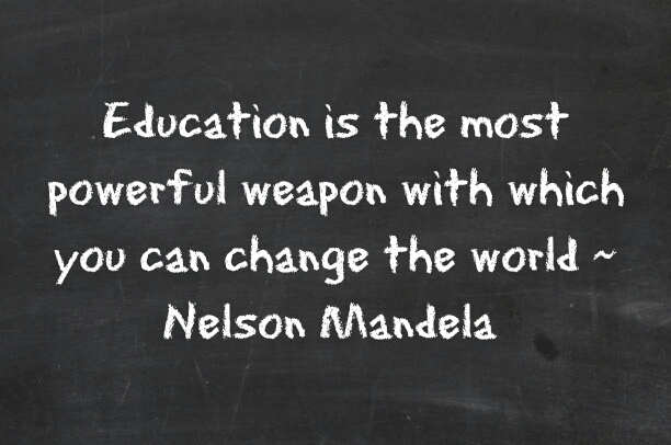Mandela Education Quote