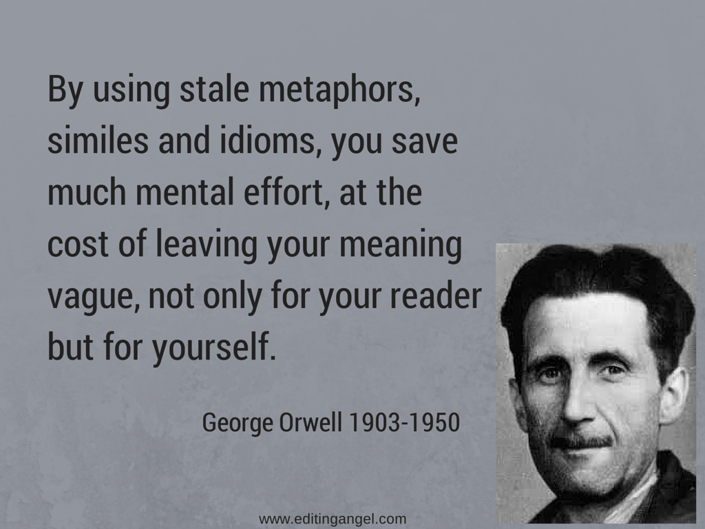 Orwell Metaphor Quote