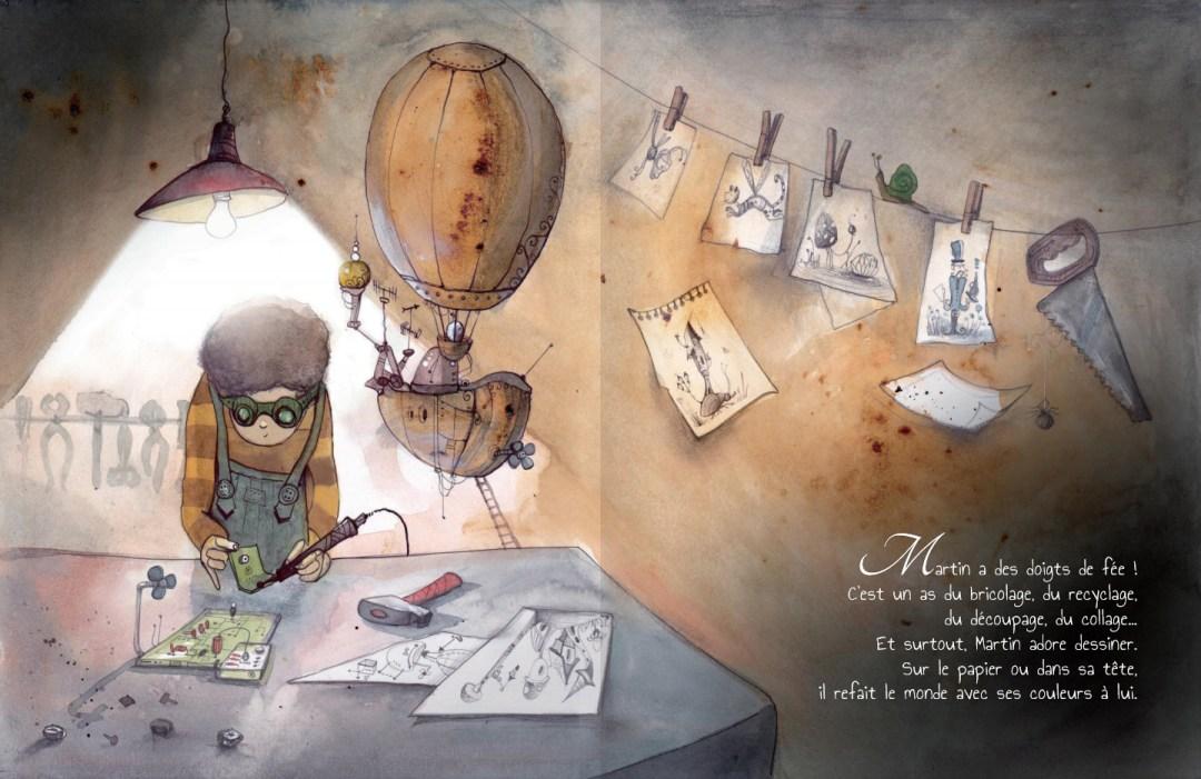 Le monde imaginaire de Martin- page 6