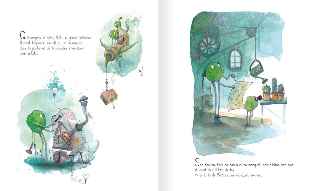Du grabuge chez les petits pois - page 5