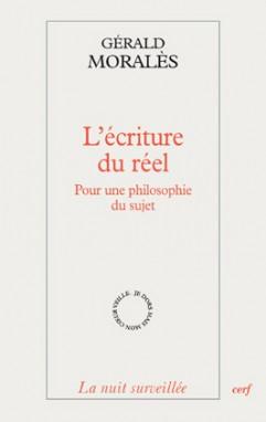 """Afbeeldingsresultaat voor Gérald Moralès nu """"L' écriture du réel"""
