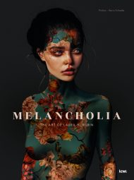 Melancholia Art Book by Laura H Rubin : HARCOVER BILINGUAL BOOK, ENGLISH AND FRENCH INCLUDED.