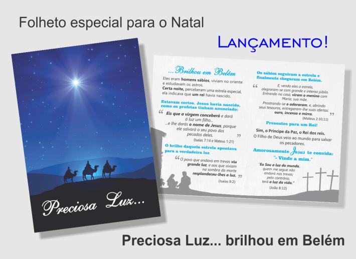 Os sábios seguem a estrela e encontram o menino Jesus em Belém.