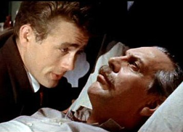 Image result for east of eden james dean and raymond massey