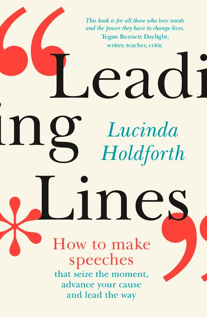 Cover image of Leading Lines by Lucinda Holdforth.