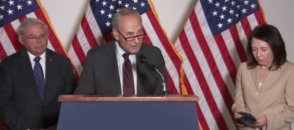 Nearly everyone missed Chuck Schumer implying this week that the filibuster's death is coming
