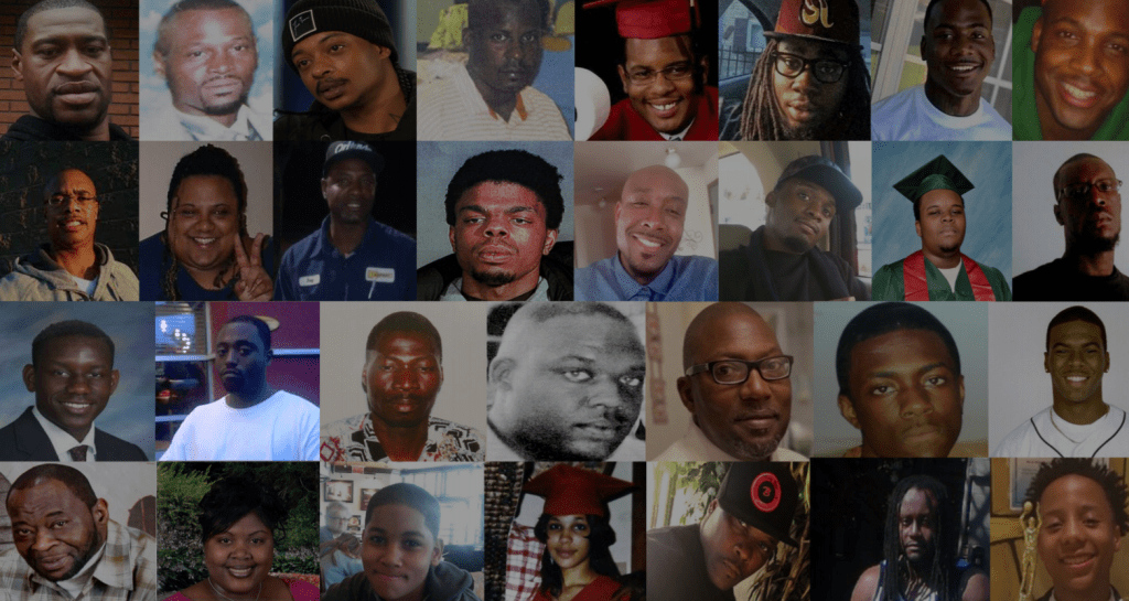 Report by human-rights lawyers calls lethal police force against Black people 'crimes against humanity'