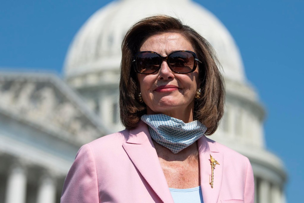 Speaker Nancy Pelosi said the House would soon vote on the Women's Health Protection Act.