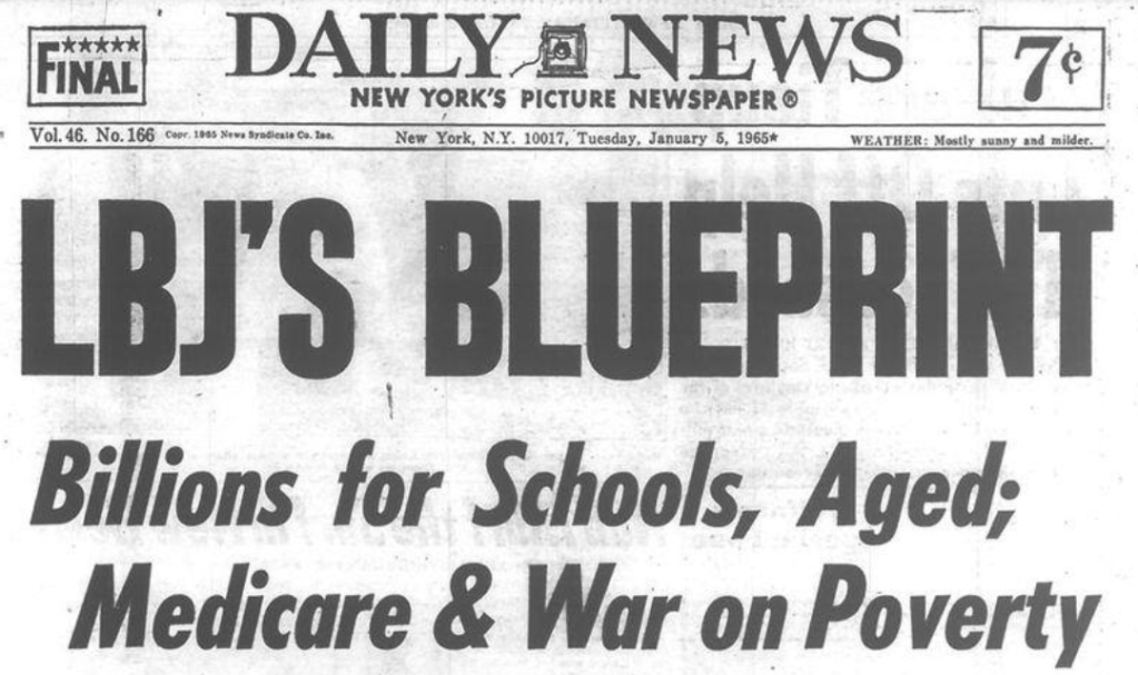 Headlines in the 1960s were admirably clear.