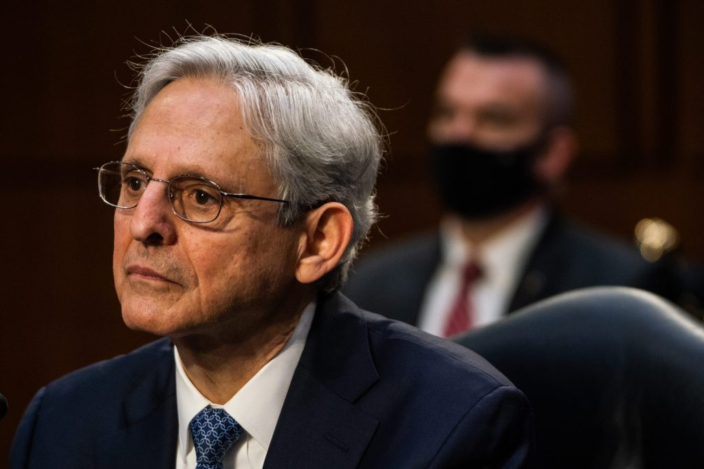 Merrick Garland. Image courtesy of the Post.