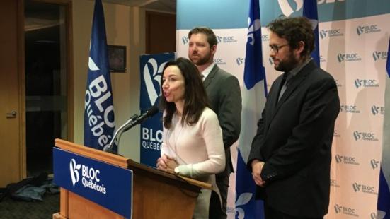 Le Bloc Québécois demandera aux parlementaires de reconnaître l'État palestinien