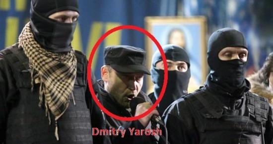 Un mandat d'arrêt international contre Dmitry Yarosh (Praviy sektor/EuroMaïdan) pour incitation au «terrorisme»