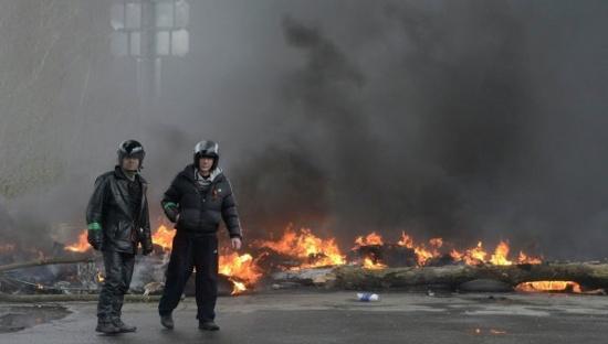 Ukraine : Les putschistes de Kiev déclenchant un massacre à Slaviansk