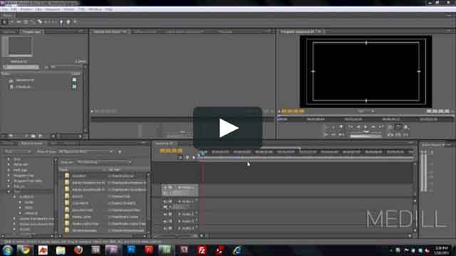 interface and workflow with Adobe Premiere Pro