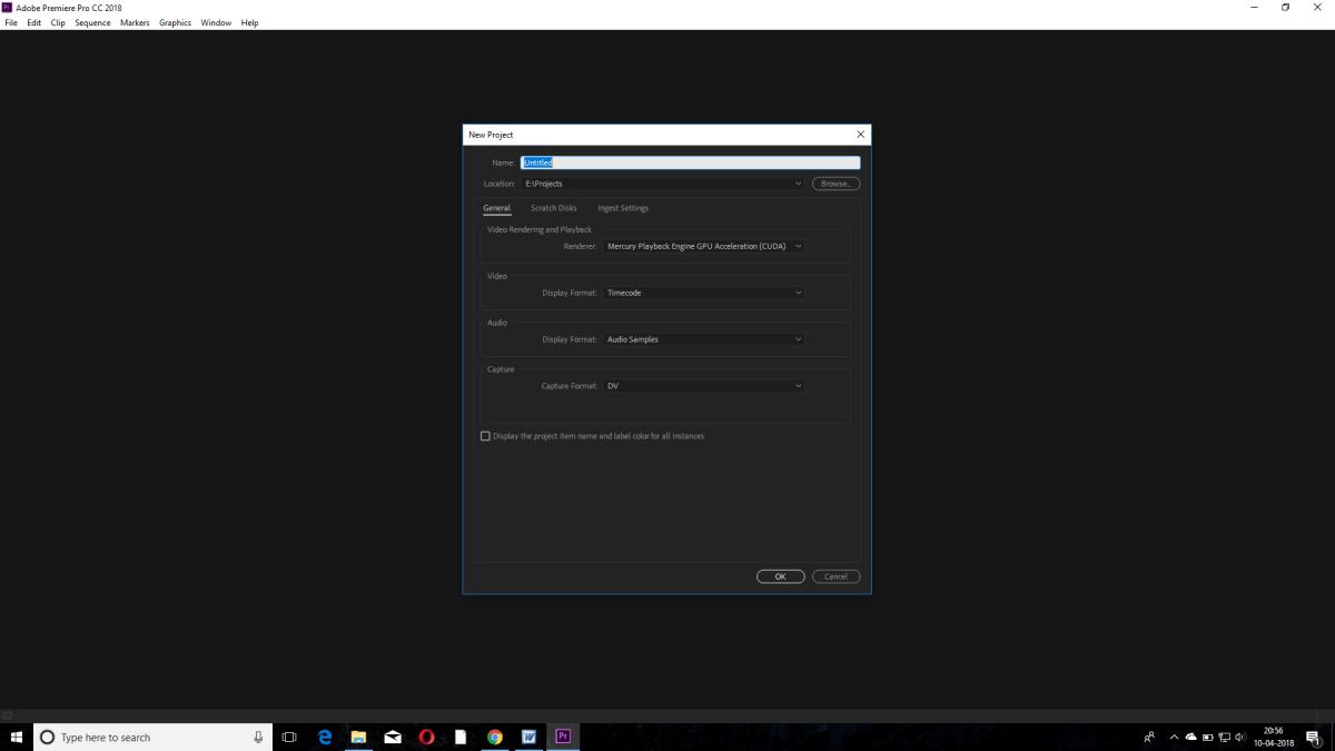 Basics of Adobe Premiere Pro
