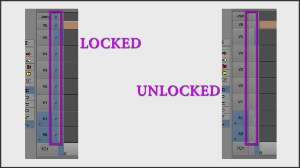 Locked vs. Unlocked Tracks