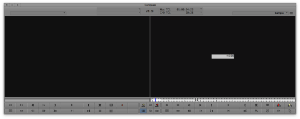 Move Backward a Specific Timecode Amount