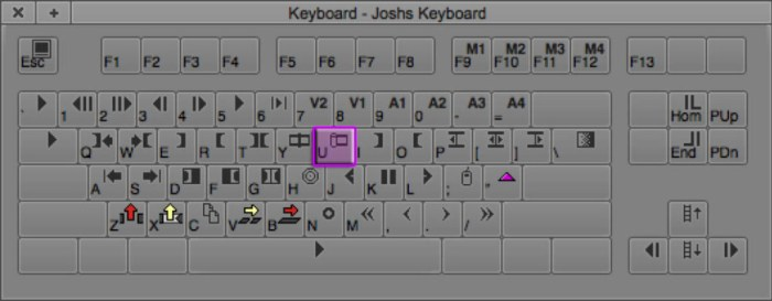 Trim Mode Keyboard Shortcut in Avid