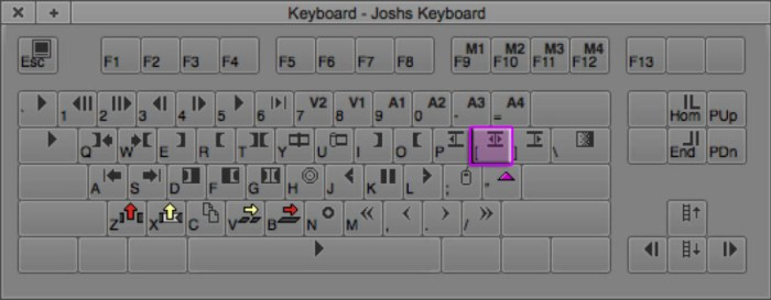 Trim AB Sides | Trimming Keyboard Shortcut in Avid