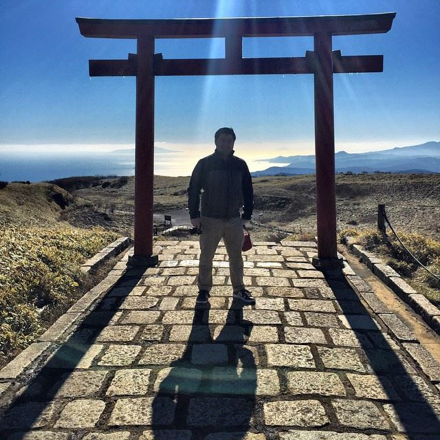 BTW here's a picture of me in Japan from my adventure earlier this month!