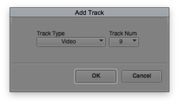 Custom Track Number in Avid