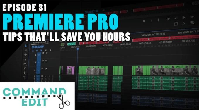 Premiere Pro Tips Podcast Logo