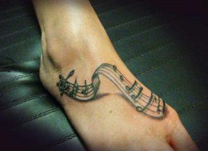 tattoo musikis