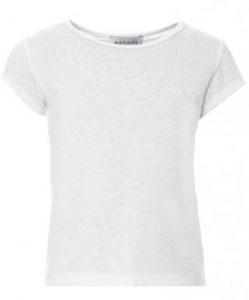 3e8216aa5e2c Στις μπλούζες κυριαρχεί το λευκό χρώμα ενώ τα σχέδια ποικίλουν. Ανάμεσα  τους υπάρχουν σχέδια με ρίγες