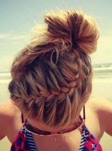 braid and bun