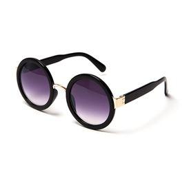 black round shades