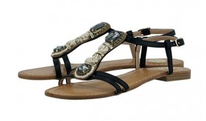 mavro sandali EXE