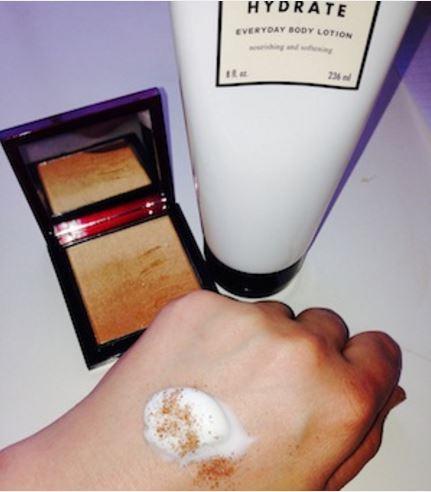 tinted moisturizer hack
