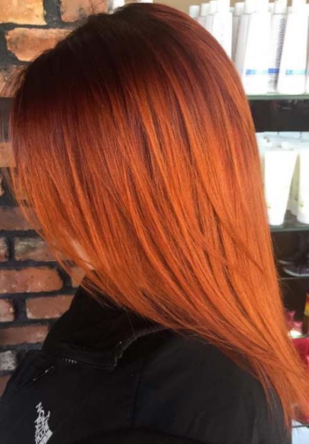 Το χάλκινο είναι μια απόχρωση του κόκκινου και ανάλογα με το πόσο ανοιχτά  θες τα μαλλιά σου ή την αλλαγή που θέλεις να κάνεις μπορείς να διαλέξεις  ποια ... 05a8684848f