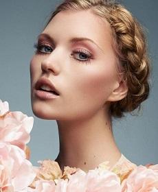 roz-nude nifiko makigiaz gia ksanthes, entasi sta matia, roz apoxrwseis