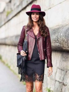 mporntw leather jacket me efe fidi