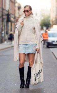 outfit me tzin fousta kai pullover