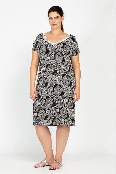 478b87fb14fc Γυναικεία Plus size ρούχα Parabita για το καλοκαίρι από 10€ – Kliktv.gr