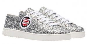 gynaikeia sneakers glitter 2018