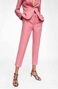 panteloni kostoumi roz