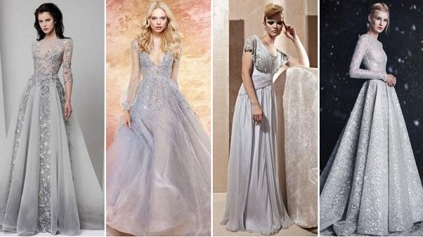 98263cae810 Ασημί νυφικά φορέματα που θα σε κάνουν να λάμπεις! - Your News