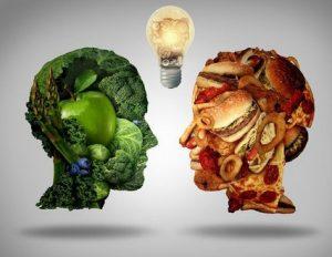 vegetarians vs meat eater