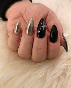 almond mavro-chriso manicure