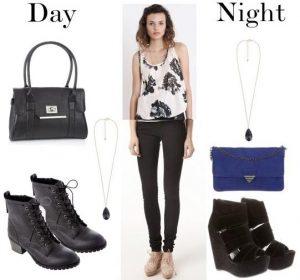 3467fa432096 Όμως τα παρακάτω outfits θα σου δώσουν την έμπνευση για μικρές αλλαγές που  θα αλλάξουν το απογευματινό σε βραδινό ντύσιμο.