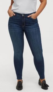 plus size shaping jeans