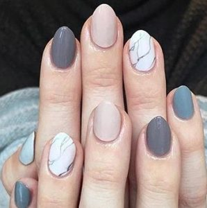 mix of nail trends