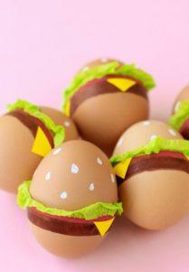 μπέργκερ αυγά