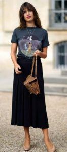 chic casual look
