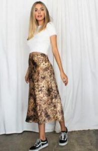 ντύσιμο με λεοπάρ φούστα