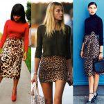 outfits animal print foustes